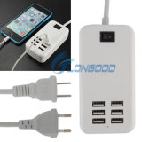 USB superiore Charger Adapter, USB Home Charger di 6 Port per il iPhone Samsung