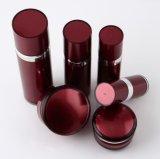 赤いSet2 PPのアクリルのクリーム色の瓶の化粧品の包装のための空気のないローションのびん(PPC-CPS-004)
