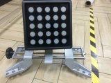 Cadrage de roue de machine d'équipement d'essai de véhicule