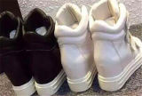 Moda Pendiente talón de los zapatos de las mujeres con la magia de la cinta (HS8-7)