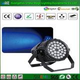 Luz impermeável da PARIDADE do zoom do diodo emissor de luz da venda direta 36PCS 3W da fábrica de China