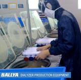 Sistemas de fabricación y máquina avanzados y confiables de la producción para los materiales desechables médicos Dialyzers de la máquina de diálisis