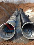 波形の電流を通された金属の適用範囲が広い管