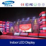 Grande vendita P6 1/4s RGB dell'interno che fa pubblicità allo schermo di visualizzazione del LED