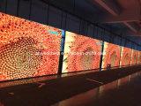Pubblicità di grande schermo esterno del video della visualizzazione di LED P8 di /Events/News