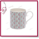 Logo를 가진 10oz Sublimation White 본 차이나 Durham Coffee Mug