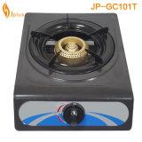 Cuiseur de gaz simple de bec d'enduit gris de Jp-Gc101t Sri Lanka
