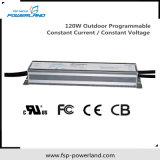 alimentazione elettrica impermeabile corrente costante programmabile esterna di 120W Dimmable LED