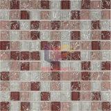 Rosafarbener Kristall-gebrochene Glasmosaik-Fliese (CC160)