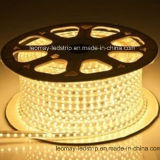 Luz de tira flexible modificada para requisitos particulares de 220V SMD5050 LED
