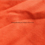 240G/M2; Tela de la camisa de polo del piqué del algodón del poliester sola