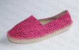 Ткани вскользь ботинки 2016 холстины для повелительницы женщин (RF16262)