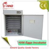 Hhd bildete durch die Colorstahlplatte, die Huhn-Eier 1000 anhält, die Geflügel anerkanntes Inkubator FCC Egg