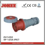 Tipo conetor da parte alta IP67 de 4p 125A para industrial