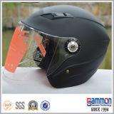 De gevoelige Helm van de Motorfiets van de Steen Zwarte op Verkoop (OP203)