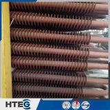 Câmara de ar de aleta espiral material do aço inoxidável no uso da caldeira