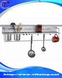 Портативной шкаф специи металла кухни DIY установленный стеной
