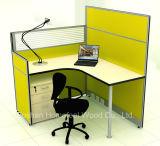 Solo sitio de trabajo de la partición del personal de ventas del cubículo caliente de la oficina (HF-YZM026)