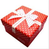 Paper Handmade Gift Box/Packing Box/Packaging Box con Bow