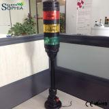 Luz de advertência do diodo emissor de luz da Petróleo-Prova IP67, luz da torre