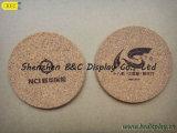 Coasters Cortiça-Suportados resistentes ao calor impermeáveis, Coasters da cortiça (B&C-G072)