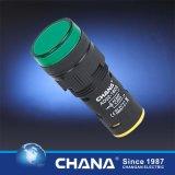 22mm protegeu a lâmpada dobro do diodo emissor de luz da cor com Ce e aprovaçã0 de RoHS