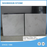 Mattonelle dell'interno di marmo bianche del pavimento/parete della Cina