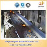 Ceinture à convoyeur à retardement de flamme à haute efficacité et fiabilité