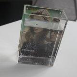 Vase acrylique avec le bâti de photo/le côté de la photo une ou vase acrylique à bâti de quatre côtés
