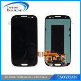 Поставка для индикации экрана галактики S3 I9300 LCD Samsung, для цифрователя экрана касания S3 I747 LCD
