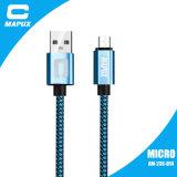 Micro cavo del USB dell'animale domestico +Nylon