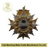Medaglia di oro antica con un Logo di Car, Promotion Medallion