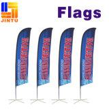 Indicador al por mayor de la gota de /Tear de los accesorios de la bandera de /Feather del indicador de playa (JTAMY-032401)