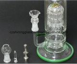Pop Rokende Pijp van het Glas van Perc van de Matrijs Czs043 met de Kom van het Glas