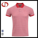 Soem-späteste neue Art-gestreiftes Mann-Polo-Hemd