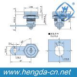 Zylinder-Nocken-Verschluss der hohen Sicherheits-Yh9800 mit elektrischem mechanischem sicherem Schlüssel