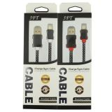 Cavo di dati Braided 1.5m del USB del commercio all'ingrosso 5FT per il iPhone 5/6/7