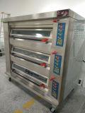 Forno de padaria elétrico luxuoso das bandejas profissionais da plataforma 9 de Digitas 3
