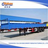 Reboque hidráulico personalizado OEM do caminhão da caixa do Tipper com certificado do ISO
