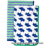 Impression de couverture de bain de bébé Swaddle Blanket with High Quality