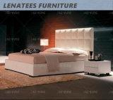 Leder-Bett-Schlafzimmer des Hauptvorstand-S124 modern