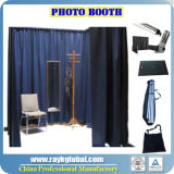 Produtos novos quentes! ! ! A tubulação do cerco da cabine da foto e drapeja o carrinho da cortina dos carrinhos