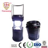 Lanterna recarregável solar a pilhas