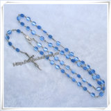 I branelli rosario, plastica borda il rosario, angolo di plastica borda il rosario (IO-cr274)