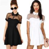 Heiße Verkaufs-Frauen-Backless beiläufiges Chiffon- Abschlussball-Kleid (50131)