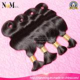 erstklassiges reales malaysisches Haar-rohe Menschenhaar-Masse der Jungfrau-7A