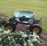 O rolamento Scoot-N-Faz assento de jardim