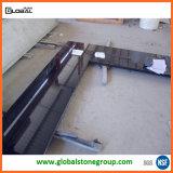 Controsoffitto nero assoluto del granito della Cina per il progetto residenziale