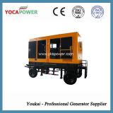 375kVA電気防音のディーゼル発電機のトレーラーの発電