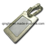 Kundenspezifische Neuheit-Entwurf PU-Leder-und Metallgepäck-Marke